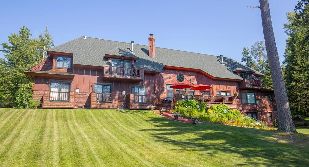 Siskiwit bay Lodge in Cornucopia, Wisconsin